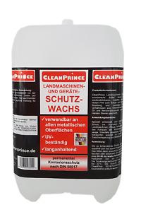 10 Liter Winterdienst Geräte Schutzwachs Korrosionsschutz Wachs DIN 50017 Spray