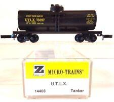 Z Mtl 14403 Utlx 39' Single Dome Tank Car #73327
