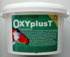 Dr. Söchting OXYplusT 4kg Sauerstofftabletten für Teiche Gartenteich 21,87€/kg