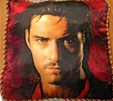 Disney Pirates of the Caribbean Soft & Velvety Throw Pillow~ Will Turner