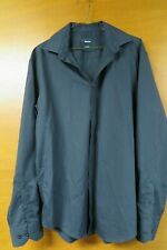 SLATERS TAILORED BLACK LONG SLEEVED SHIRT SIZE 16.5 COLLAR
