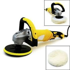 "7"" Round Electric Auto Car Polisher Polishing Buffing Waxer Sander Sanding Tool"