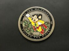 NYPD I.A.B. MIGHTY MOUSE GROUP 2 CHALLENGE COIN