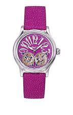 NEW Ingersoll IN7210PU Women's Tulalip Purple Watch Automatic Skeleton Analog SS