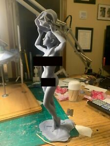 1/6 Sexy Princess Leia Honoring her Father, unpainted 3D resin printed figure
