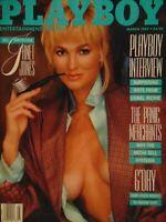 Playboy March 1987   Janet Jones Marina Baker MiSchelle McMindes     #1191