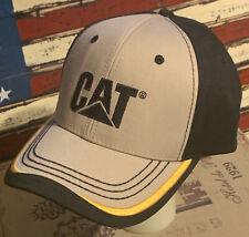 Caterpillar CAT Foley Equipment Black/Beige Cap/Hat
