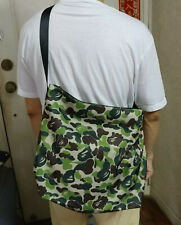 NEW A Bathing Ape Bape CAMO Cross-Body Big Tote Shoulder Bag from Japan Magazine