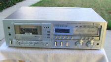 Sanyo RD-5372 3-Head Microprocessor Stereo Cassette Deck Player - JAPAN