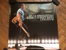 rare vintage Bruce Springsteen square promo poster Live 1975 -85 ( album cover