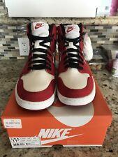 Nike Air Jordan I Retro KO High OG 1 AJKO CHICAGO BULLS WHITE RED BLACK 11.5