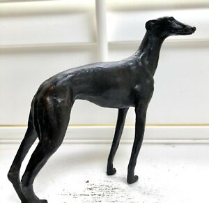 SOLID BRONZE SCULPTURE OF A GREYHOUND No29 SKINNY DOG CAST AT OUR UK FOUNDRY