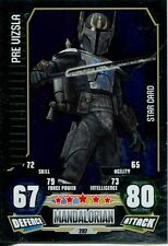 Star Wars Force Attax Series 3 Card #207 Pre Vizsla