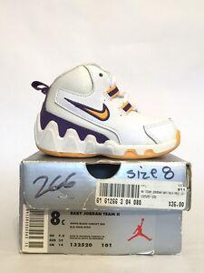 Nike Baby Jordan Team II 2 OG (TD) Toddler LA Lakers 132520-101 Kobe 8c