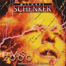 MICHAEL SCHENKER - MS2000 DREAMS AND EXPRESSIONS 2000 US CD * NEW *