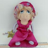Vintage Miss Piggy The Star, Rare Jim Hensons Muppets Plush Toy Doll, Pink Dress