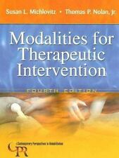 Modalities for Therapeutic Intervention by Thomas P., Jr. Nolan, Susan L....