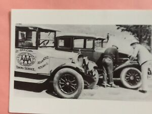 "1925 Dodge Tow Truck & 29 Graham Sedan, Oregon Historical Society 4""x6"" New"