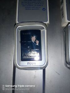 JAMES BOND ZIPPO - GOLDEN EYE - MIRROR