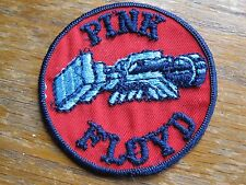 """PINK FLOYD WISH YOU WERE HERE 3"""" VINTAGE PATCH FANTASTIC SHAPE RARE VERY HTF"""