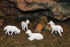 Sheep Figurine Nativity Scene Pellegrini Presepio Ovejas para Pesebre Nacimiento