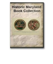 Maryland MD State County History Culture Family Tree Genealogy Book Set - B301