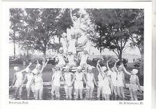 "*Postcard-""Girls Posing @ Waterfront Fountain""-Calender-*St. Petersburg, FL(#150"