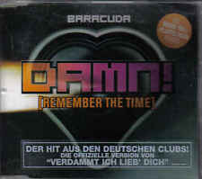 Baracuda-Damn Remember The Time cd maxi single eurodance