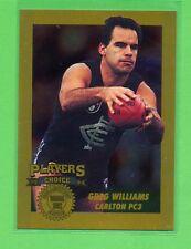 1994 Dynamic AFLPA Players Choice Greg Williams