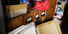 IKEA hemnes pine stained bokshelf CD DVD Holder job lot