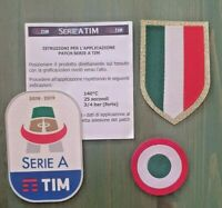 patch toppa JUVE SERIE A TIM 2018 2019 gommina + SCUDETTO + tim cup coppa italia