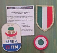 patch toppa JUVE SERIE A TIM 2018 2019 gommina + SCUDETTO + tim cup coppa italia