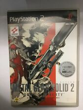 Metal Gear Solid 2 Sons Of Liberty PS2 Ita
