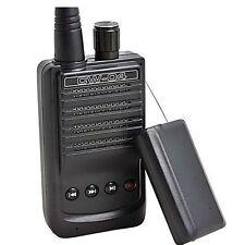 high sensitivity wireless sound spy bug pickup mic record Transmitter receiver