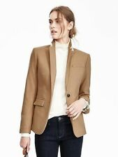 Banana Republic Camel Italian Flannel Blazer   $228 NWT 0P 0 P