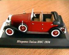 HISPANO SUIZA H6C 1934 DECAPOTABLE IXO ALTAYA 1/43 NEW BORDEAUX CONVERTIBLE