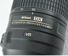 Nikon AF-S DX 55-300mm f/4.5-5.6G VR ED HRI by DHL Great Condition