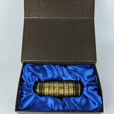 Da Vinci Code Cryptex Box Password Locket Ring Anniversary Birthday Gifts EUC