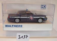 Walthers 1/87 nº 01148 Ford Crown Victoria State Patrol wisconsin OVP #3137
