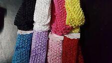 Wholesale lot 48 pcs Crochet Headband With 1.5 inch Acrylic