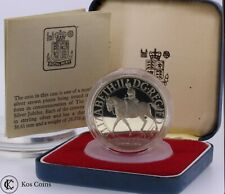 More details for 1977 elizabeth ii silver jubilee silver proof 25 pence crown