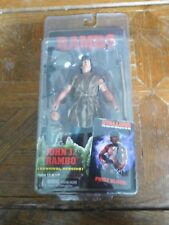"""NECA Rambo First Blood 7"""" Action Figure Survival Version Action figure Stallone"""