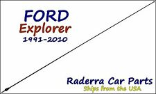 "1991-2010 Ford Explorer - 32"" Black Stainless AM FM Antenna Mast"