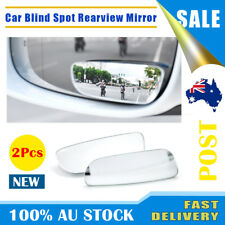 2pcs Universal Car Mirror Auto Convex Blind Spot 360° Wide Angle Rear Side View