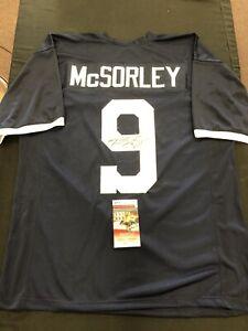 Trace McSorley Autographed Signed PSU Custom Jersey  JSA