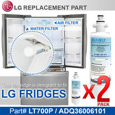 2x LT700PWF   LG FRIDGE GR-L730SL