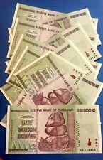 ! ZIMBABWE $50 Trillion banknotes (10 pieces). UNCIRCULATED cash paper money US!