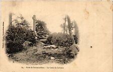 CPA forét DE FONTAINBLEAU - the cross of calvary (166764)
