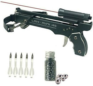 Mini bow and arrow handheld archery, aluminum alloy material, super powerful
