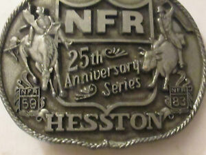 National Finals Rodeo Buckle 1983